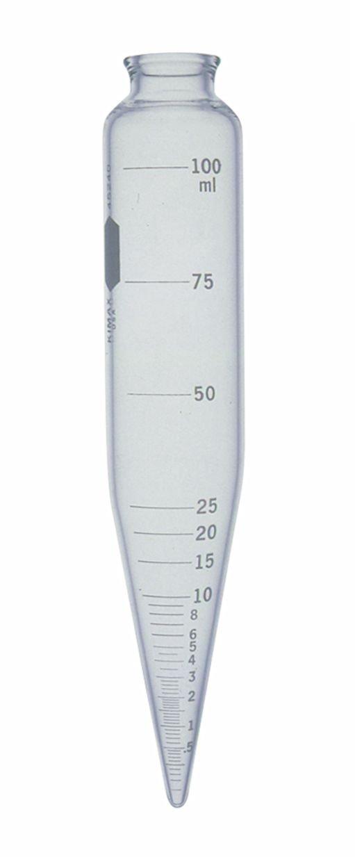Kimble 45240-100 Glass 2021 model 100mL Excellent Graduated Tube Centrifuge Oil Cali