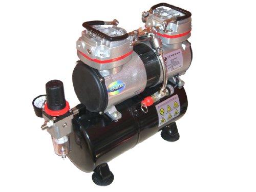 Hobby Airbrush Kompressor mit dem Druckbehälter Fengda® AS-196