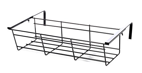 Jardinera - Balcón Eurogarden ajustable. Balcón Cm.85/Ganchos hasta 30 cm -Art.13001_30-100% hecho en Italia -