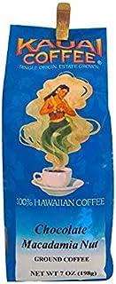 Kauai Coffee Chocolate Macadamia Nut, 7-Ounce Bags (Pack of 3)