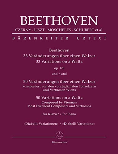 Beethoven: 33 Veränderungen über einen Walzer op. 120 / 50.