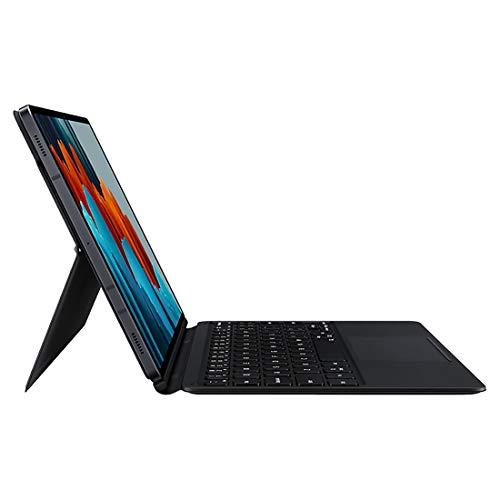 SAMSUNG Galaxy Tab S7 Keyboard, Black (EF-DT870UBEGWW) (for Galaxy Tab S7)
