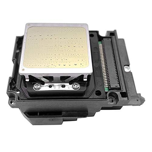 LUOERPI Cabezal de impresión UV de Impresora de 6 Colores Apto para Accesorios de Impresora EPSON TX800 TX820 TX700 DX8 DX10 (Color: BK) (Color : BK)