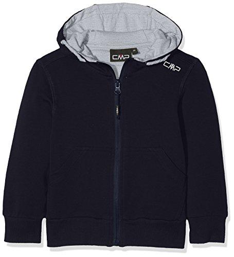 CMP Jungen Sweatshirt, Black Blue, 176
