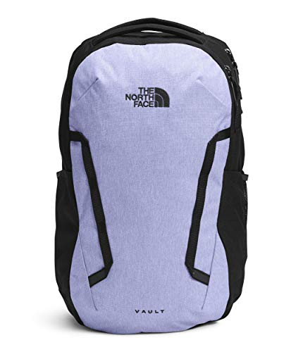 The North Face Women's Vault Backpack, Sweet Lavender Heather/TNF Black, One Size