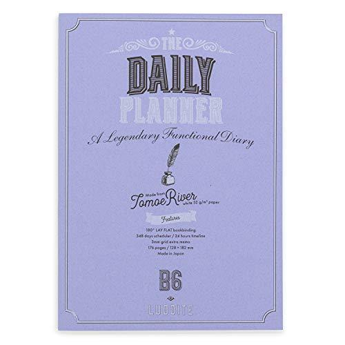 ラダイト 手帳 日付フリー B6 デイリー ファンクションノート NOTE-B6FPR-04