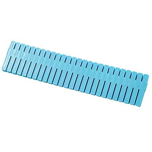 Drawer Grid Divider, 4 PCS Adjustable Drawer Grid Divider Partition Plate Drawer Clapboard Storage Organizer for Underwear Socks Makeup