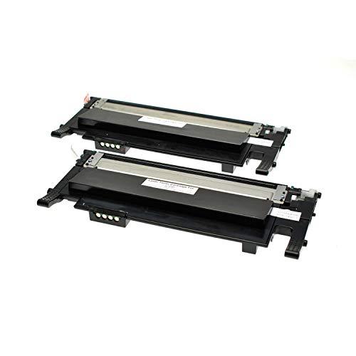 2 Toner kompatibel für Samsung Xpress C410W CLP-365/SEE CLP-365 360 Series CLX 3300 Series 3305 FN FW Xpress C 460 FW Series - CLT-K406S - Schwarz je 1500 Seiten