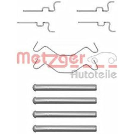 Scheibenbremsbelag 109-1680 Vorderachse METZGER Zubehörsatz