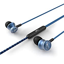 boAt BassHeads 152 Wired Earphones with Super Extra Bass, Durable Cable, Built-in Mic, Metallic Earbuds(Jazzy Blue),Imagine Marketing Pvt Ltd,Bassheads 152,Boat earphone,Wired earphones,Wired head phone,ear phone,ear phones Boat,earphone with mic,earphone with microphone,earphones,earphones Wired,earphones for mobiles,headset,headsets with mic