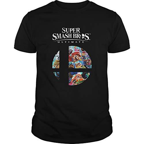 Super .Mario Super .Smash Bros Ultimate Shirt - T Shirt For Men and Women