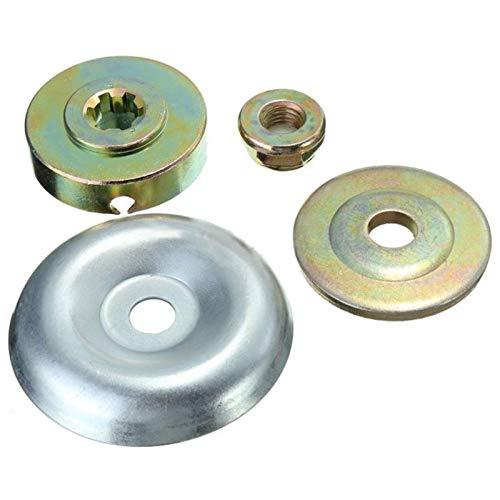 LiMePng 4 Teile/Beutel Ersatz Metallgetriebemutter Fixing Kit für Strimmer bürste LiMePng