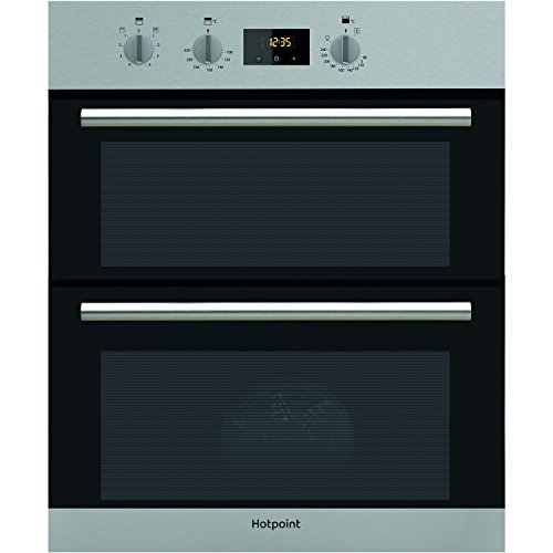Hotpoint DU2540IX B Rated Built-Under Electric Double Oven - Stainless Steel