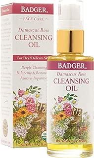 Badger Damascus Rose Face Cleansing Oil - 2 oz