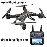 APJS KY601S Plegable RC Drone Cuadricópter Baterías Larga Duracion a 3.7v 1800mah Modular, Drones por Control Remoto Alcance de 200 Metros, Mantiene la Altitud, Drones para Jóvenes,Negro