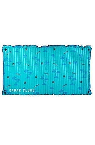 Radar Cloud Water Inflatable Floating Mat - Blue Palms - 5' x 10'