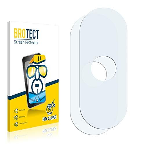 BROTECT Protector Pantalla Compatible con Xiaomi Mi Mix 3 5G (Cámara) Protector Transparente (2 Unidades) Anti-Huellas