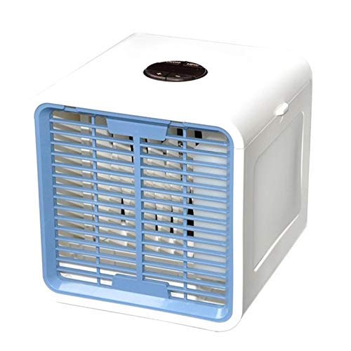 GUONING-L USB Fan, Usb Portable Air Conditioner Humidifier Purifier Desktop Air Cooling Fan Air Cooler Fan for Office Home