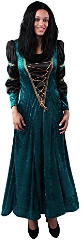Marco Porta 3343M - Burgdame Halloweenkostüm, Groß M, grün schwarz B015RPJ4WC Qualitätsprodukte   | Lebhaft und liebenswert