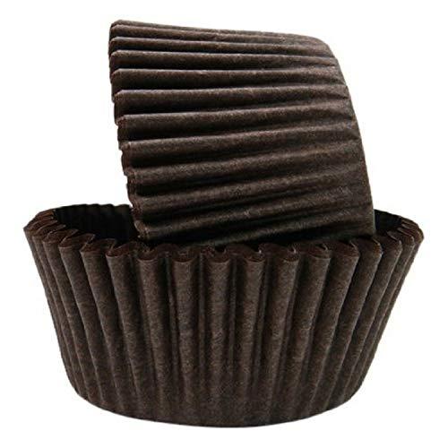 Regency Wraps Greaseproof Baking Cups, Solid Brown, 40-Count, Standard.