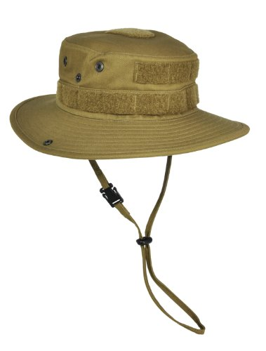 HAZARD 4 SunTac Cotton Boonie Hat with Molle - Coyote (Large)
