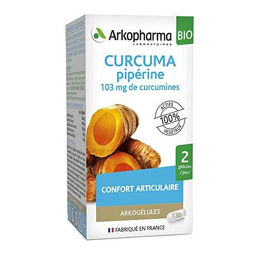 Arkopharma Arkogellule Curcuma piperina 130 gelole di integratori alimentari