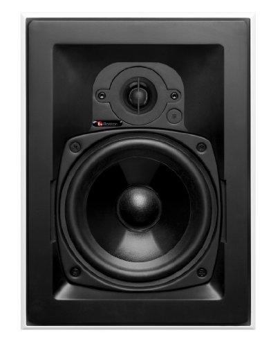 Boston Acoustics HSi 255 Blanco Altavoz - Altavoces (De 2 vías, 1.0 Canales, Alámbrico, 75-2000 Hz, 8 Ω, Blanco)