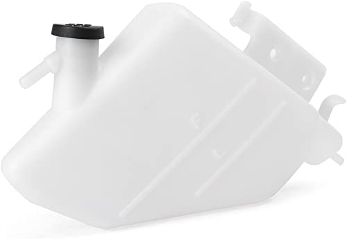 new arrival Mallofusa Motorcycle Radiator sale Water online sale Coolant Reservoir Overflow Tank Replacement Compatible for Suzuki GSXR1000 K5 K6 2005 2006 White outlet online sale