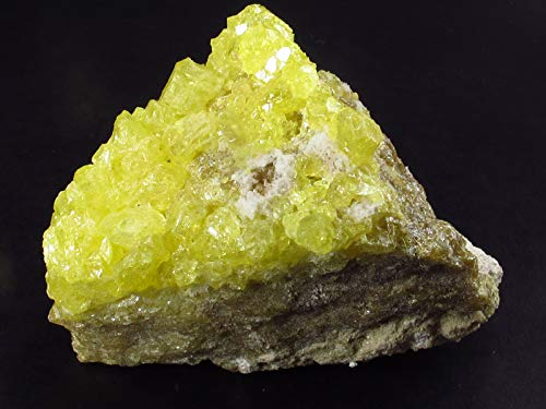 The Russian Stone Sulfur Cluster aus Bolivien, 6,7 cm