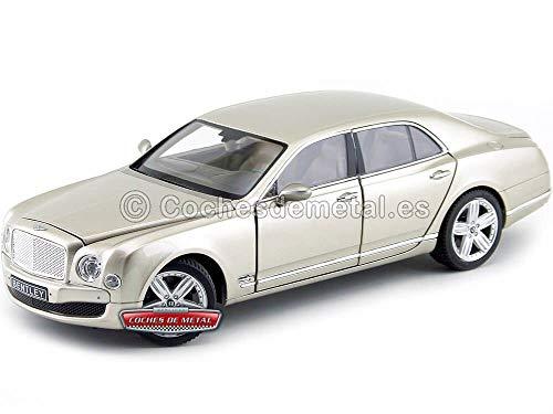 Bentley Mulsanne, met.-beige , Modellauto, Fertigmodell, Rastar 1:18