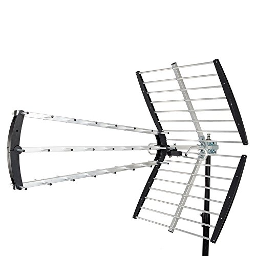 Leadzm 180 Mile HDTV Outdoor Amplified HD TV Antenna Digital UHF Radio