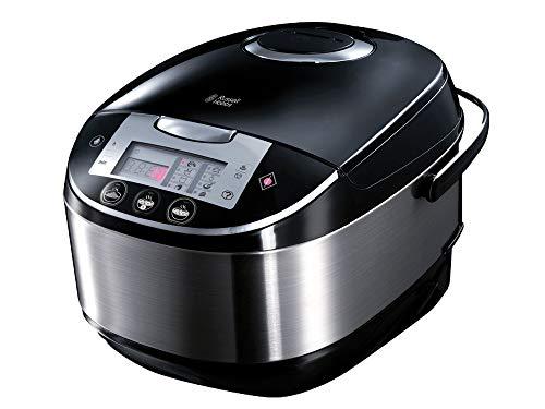 Russell Hobbs Cook@Home - Robot de cocina con función panificadora (900 W, 11 Programas, Acero Inoxidable, 5 l, Digital, Negro) - ref. 21850-56