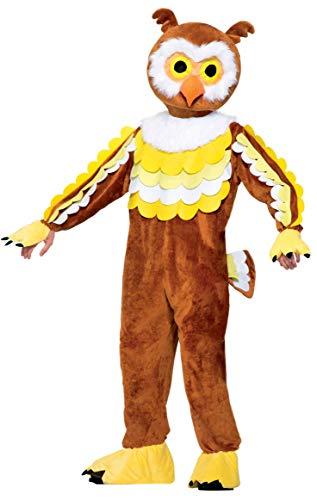 Forum Novelties, Inc Give A Hoot Owl Mascot Fancy Dress Costume Standard