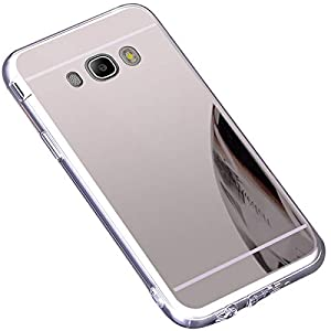 Sunroyal Premium Espejo Funda Para Samsung Galaxy Core Prime ...
