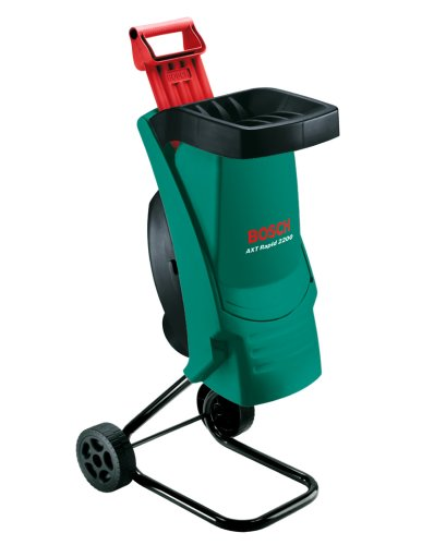 Bosch Home and Garden 0600853600 Biotrituratore Elettrico, 2200 W, Black,Green