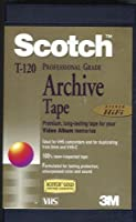 Scotch T-120 Professional Grade Archive VHS Hi-Fi Video Tape by Scotch [並行輸入品]
