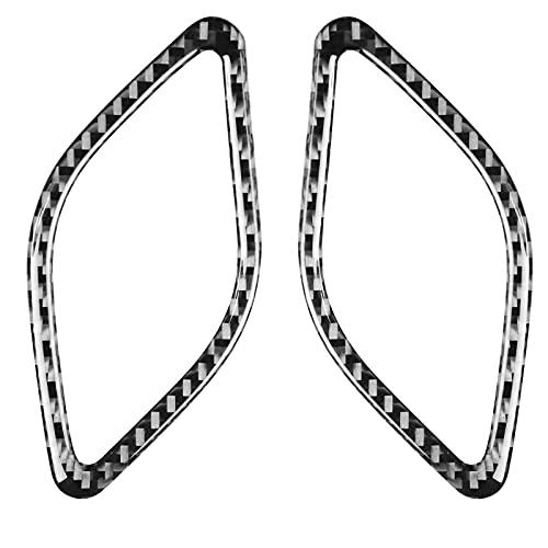 Accessori Interni in Fibra di Carbonio per BMW. 11-15 per X1 E84 Pannello Portastrumenti Condizionatore d'Aria Pasta 1 Paio cornici per Interni