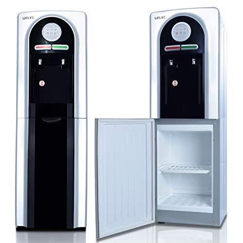 Elektrischer Wasserspender für heiße & kalte Getränke Trinkwasserspender für Haushalt, Bürobedarf, Industriebedarf Standgerät für 5 bis 20 Liter Gallonen praktisch, umweltfreundlich & hygienisch