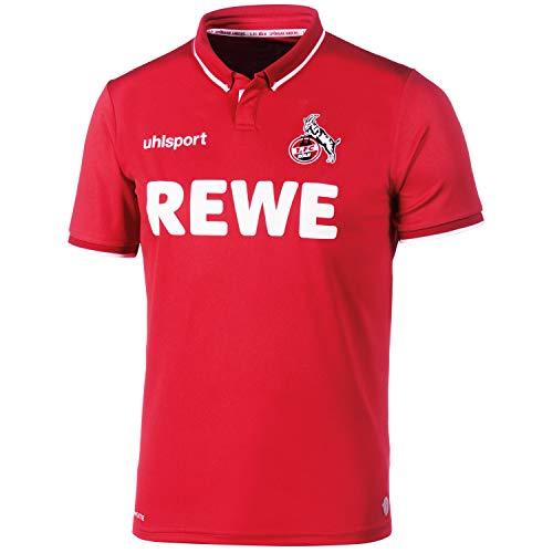uhlsport Herren 2018/2019 1. Fc Köln Auswärtstrikot, rot/weiß, L