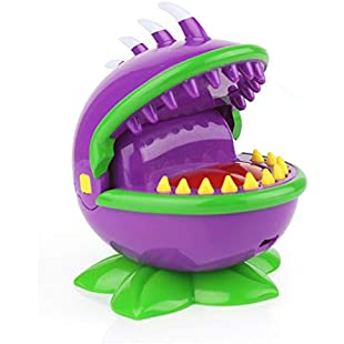 Y56(TM) Cannibal Flower Dentist Game - Chomper Biting Finger Game Gifts Funny Toys for Kids Adults Mouth Dental Toys Funny Party Home Christmas Game - A Grouchy Friend with a Grievous Toothache