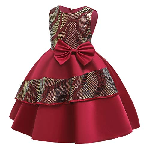 K-Youth Vestidos Niña Ropa Bebe Niña Medieval Apliques Vestido de Novia Chica...