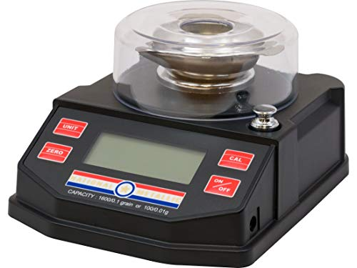 National Metallic Digital Powder Scale 1600 Grain Capacity