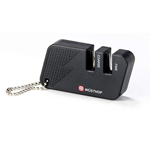 Wusthof Black 2-Stage Pocket Knife Sharpener