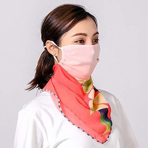 Resistente al Viento Balaclava de Damas Neck Warmer de Mujer Pañuelos Fularpara Verano Esquí, Ciclismo, Senderismo, Motocicleta, Deportes Al Aire Libre