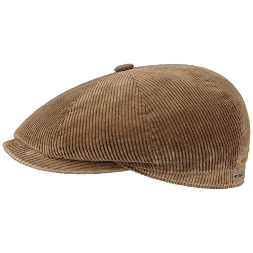 Stetson Gorra de Pana Hatteras Classic Hombre - Made in The EU...