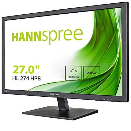 Hannspree Hanns.G HL274HPB LED Display 68,6 cm (27') Full HD Negro - Monitor (68,6 cm (27'), 1920 x 1080 Pixeles, Full HD,...