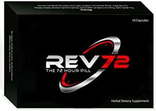 REV72 - Natural Male Enhancement Removes Performance Anxiety & Drives Libido