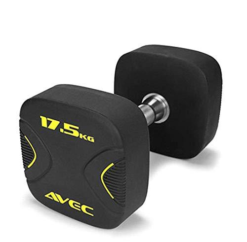 YLJYJ Fitness-Hanteln für Männer und Frauen, Arm-, Bein-, Brustmuskeltraining, Kraft, Geschwindigkeit, Ausdauerform, die perfekte Figur für jeden Boden, 17,5 kg