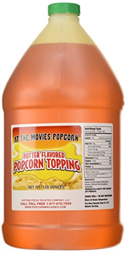 Buttery Flavor Popcorn Topping (Gallon Only)