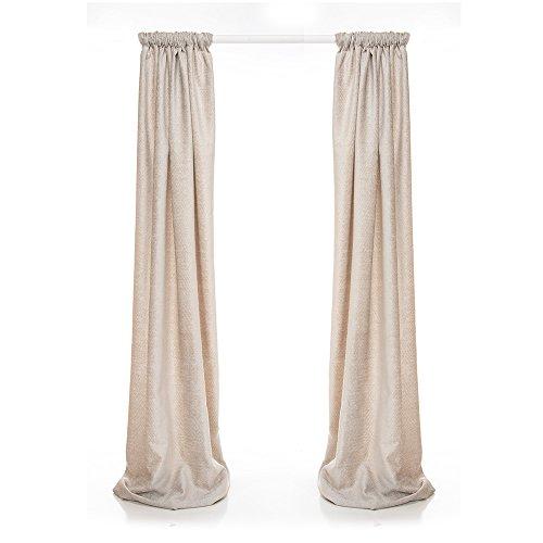 Glenna Jean Contessa Drapery Panels, Grey Velvet
